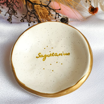 Sagittarius star sign jewellery dish