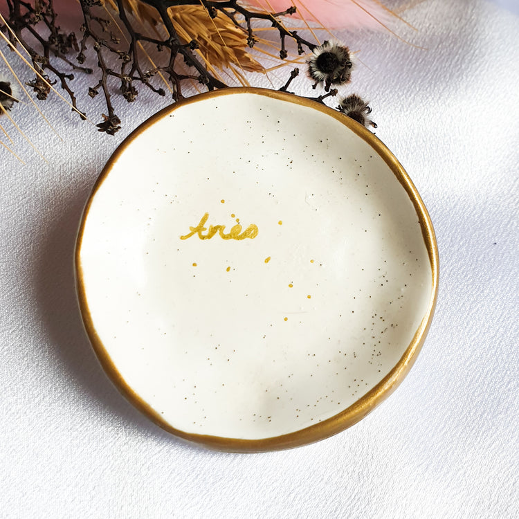 Aries star sign jewellery dish