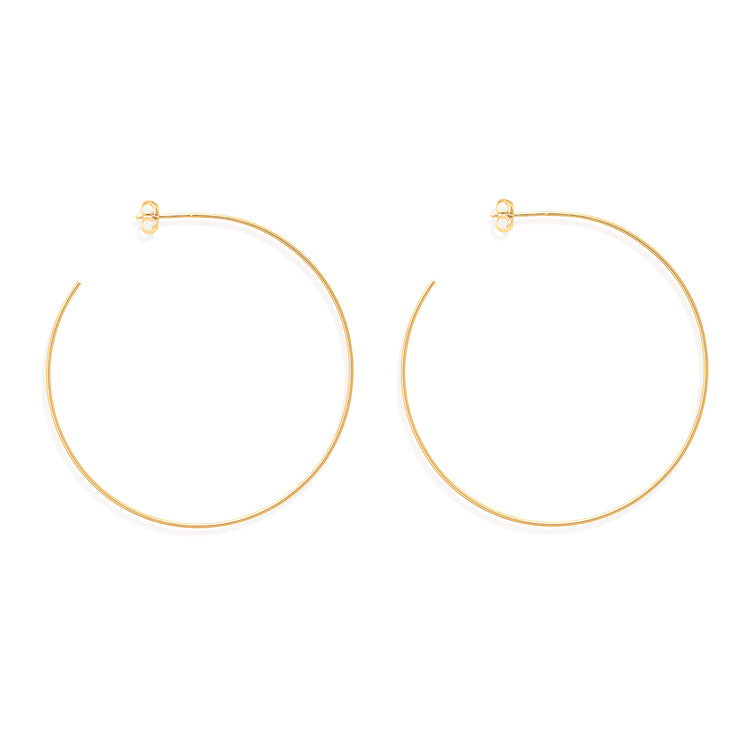 Large Alexandra Hoops