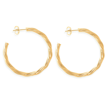 Large Chain Hoops