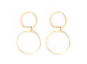 Round SYM Drop Earrings