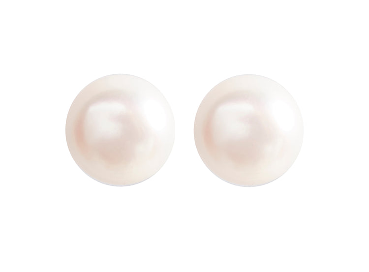 Large Audrey Pearl Studs