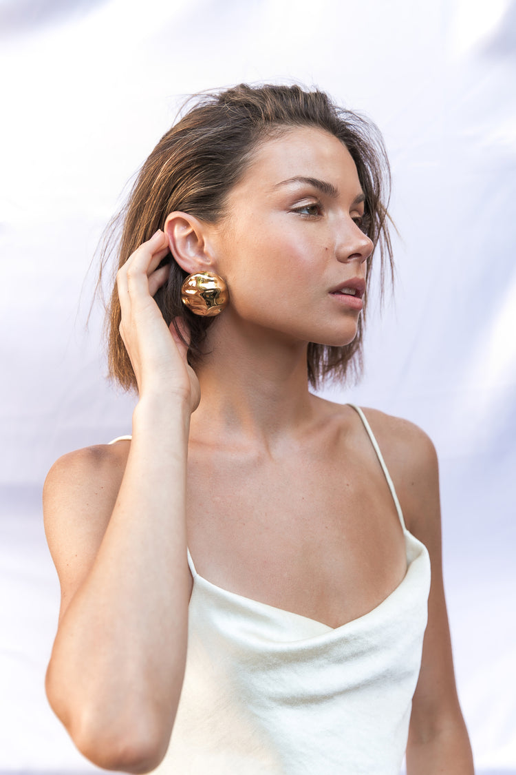 AUDREY CHUNKY EARRINGS