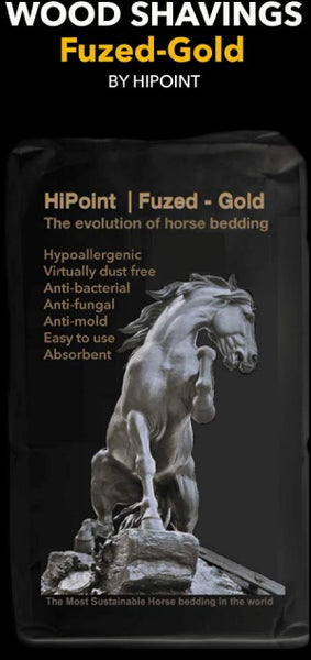 Fuzed-Gold HiPoint Perfomance Horse Bedding