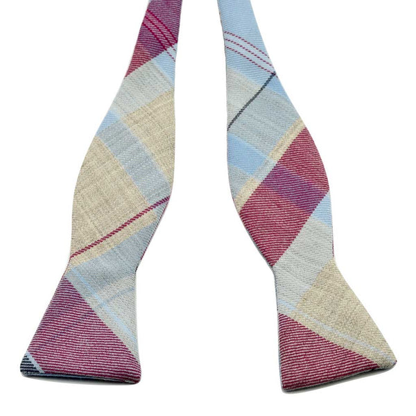 MrShorTie-pink-blue-magenta-grey-wool-bow-tie-bowtie-handmade-butterfly-tip-style-self-tie-Sunday-Afternoon