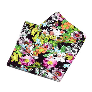 MrShorTie-yellow-black-pink-green-cotton-floral-hand-folded-edge-pocket-square-zane