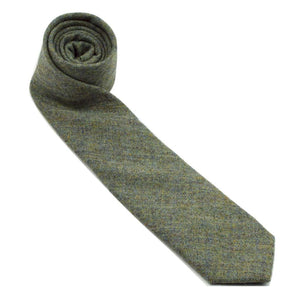 MrShorTie-green-blue-wool-cashmere-short-tie-necktie-Easy-Money-ShorTie