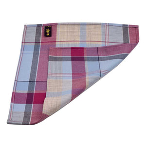 MrShorTie-blue-pink-magenta-grey-wool-hand-folded-edge-pocket-square-Sunday-Afternoon