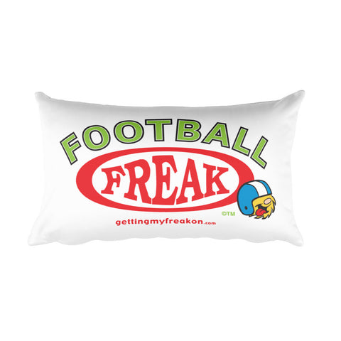 Football Freak - Rectangular Pillow