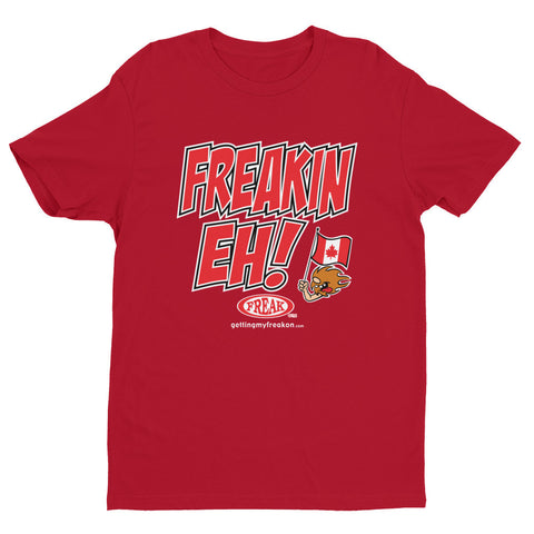 Frekn Eh! - Short sleeve men's t-shirt