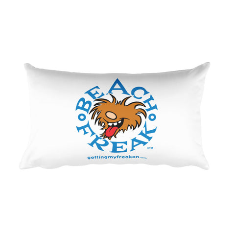 Beach Freak - Rectangular Pillow
