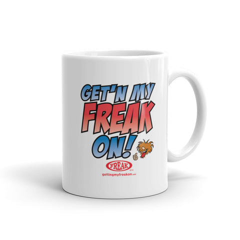 Getting my freak on - Mug
