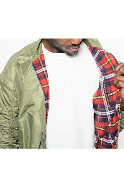 Combat Green Harrington Bomber Jacket- MurderSquad