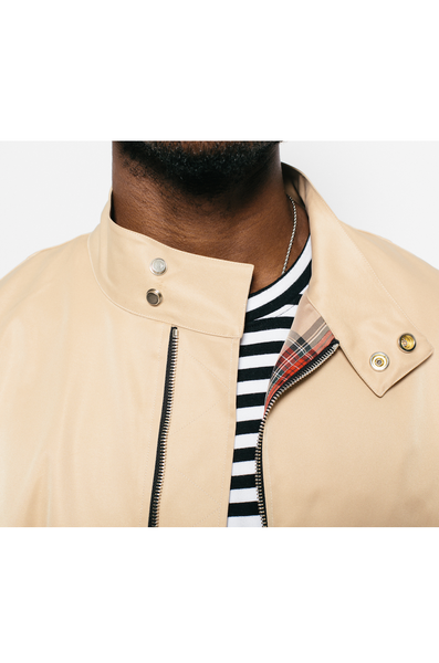 Tan Harrington Bomber Jacket- MurderSquad