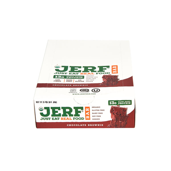 Chocolate Brownie JERF Bars