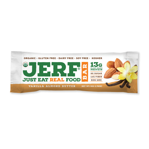 Vanilla Almond Butter JERF Bars