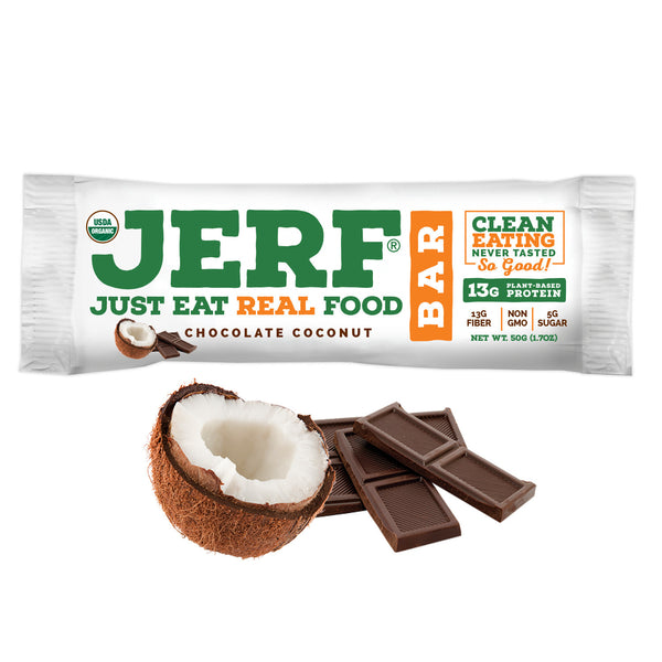 Chocolate Coconut JERF Bars