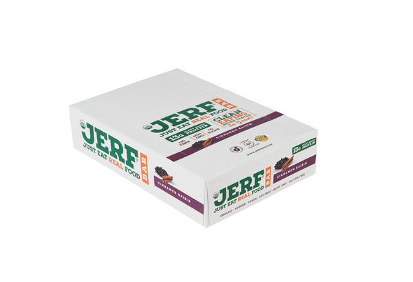 Cinnamon Raisin JERF Bars