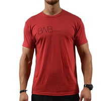 Movement Men's Red Soft T-shirt Front
