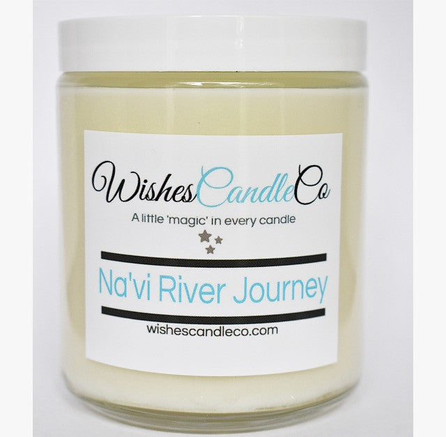Glowing Na'vi River Journey™ Candle With Free Pin Inside
