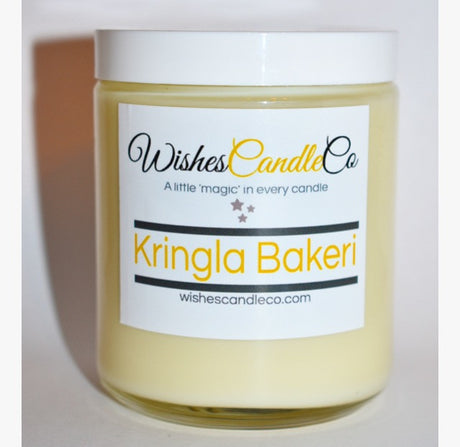 Kringla Bakeri Candle With Free Pin Inside