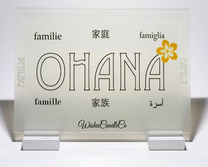 Ohana Flat Glass Display