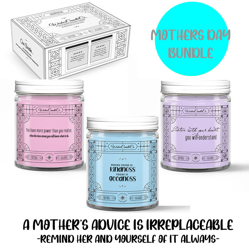 LIMITED QUANTITY - Mother's Day Bundle - Pin Candles