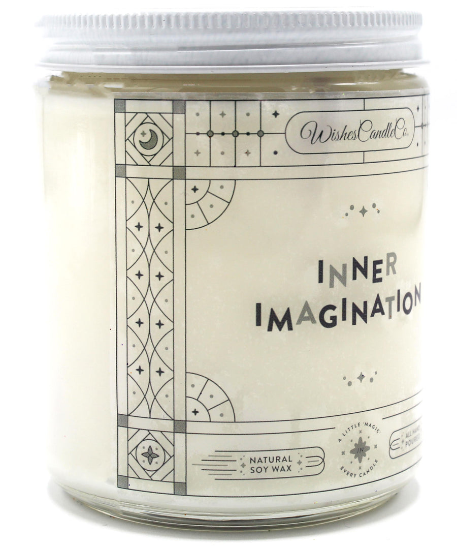COLOR CHANGING Inner Imagination 8oz Candle With Free Pin Inside