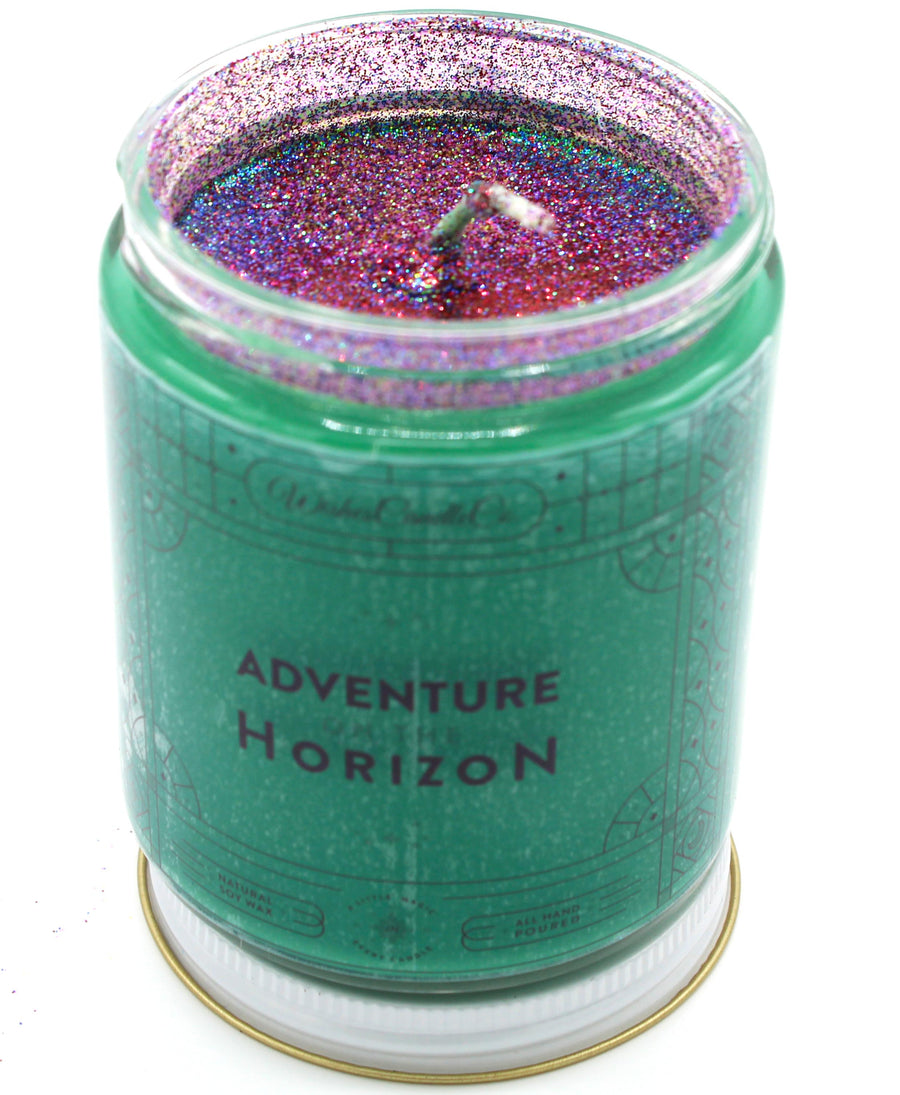 Adventure on the Horizon 8oz Candle With Free Pin Inside
