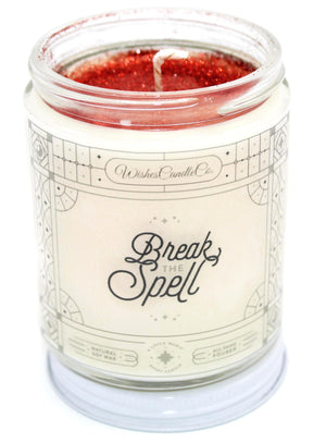 Break The Spell 8oz Candle With Free Pin Inside