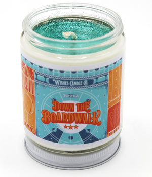 Down The Boardwalk 8oz Candle With Free Pin Inside