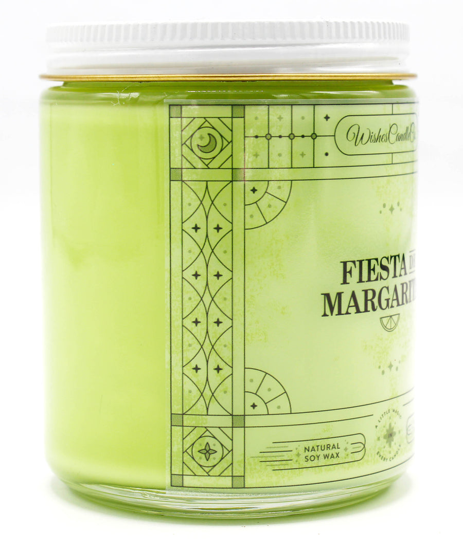 Fiesta de Margarita 8oz Candle With Free Pin Inside