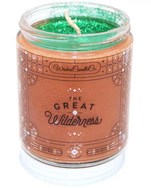 The Great Wilderness 8oz Candle With Free Pin Inside