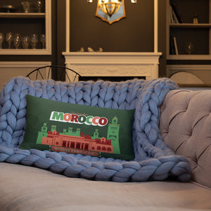 Greetings From - Morocco! Throw Pillow