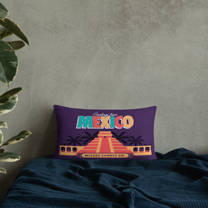 Greetings From - Mexico! Throw Pillow