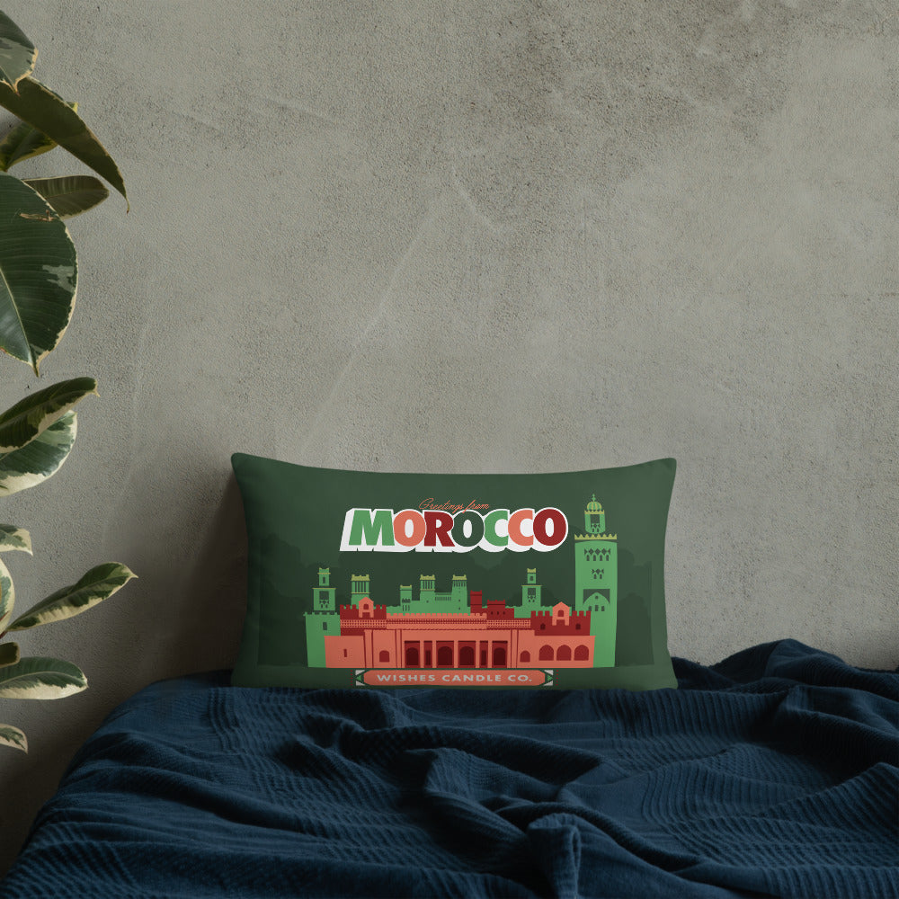 Load image into Gallery viewer, Greetings From - Morocco! Throw Pillow