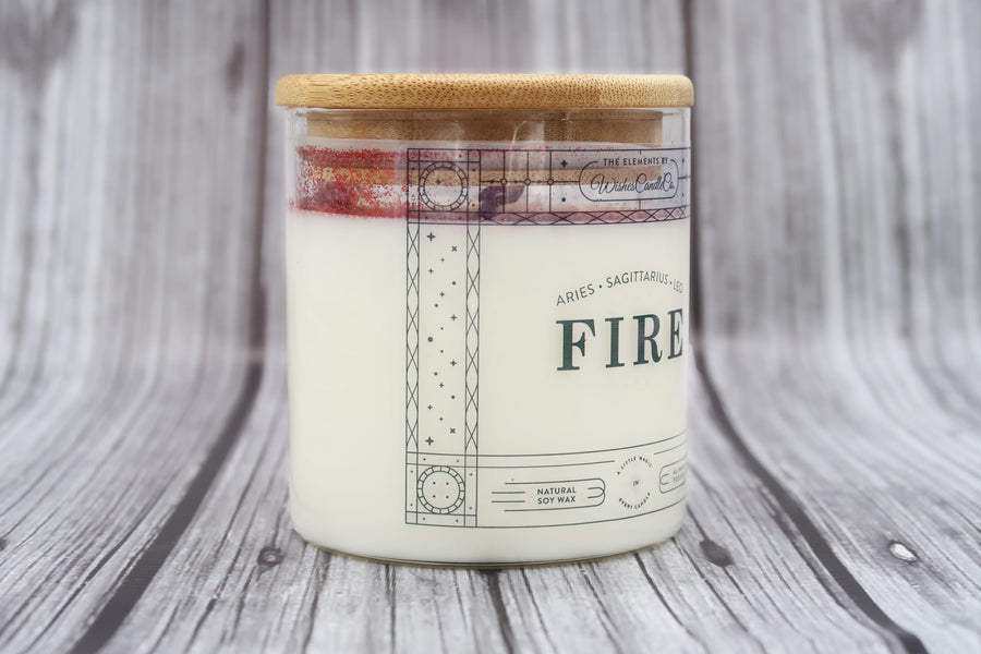 Fire Element Candle