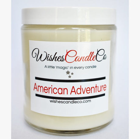 American Adventure Candle With Free Pin Inside