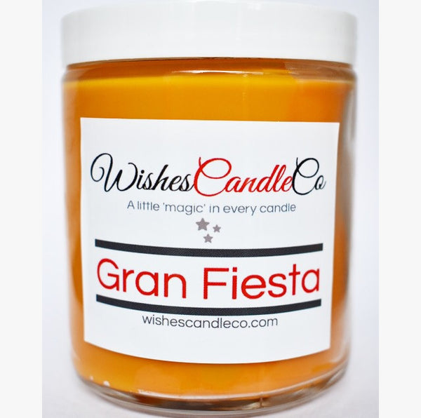 Gran Fiesta Candle With Free Pin Inside