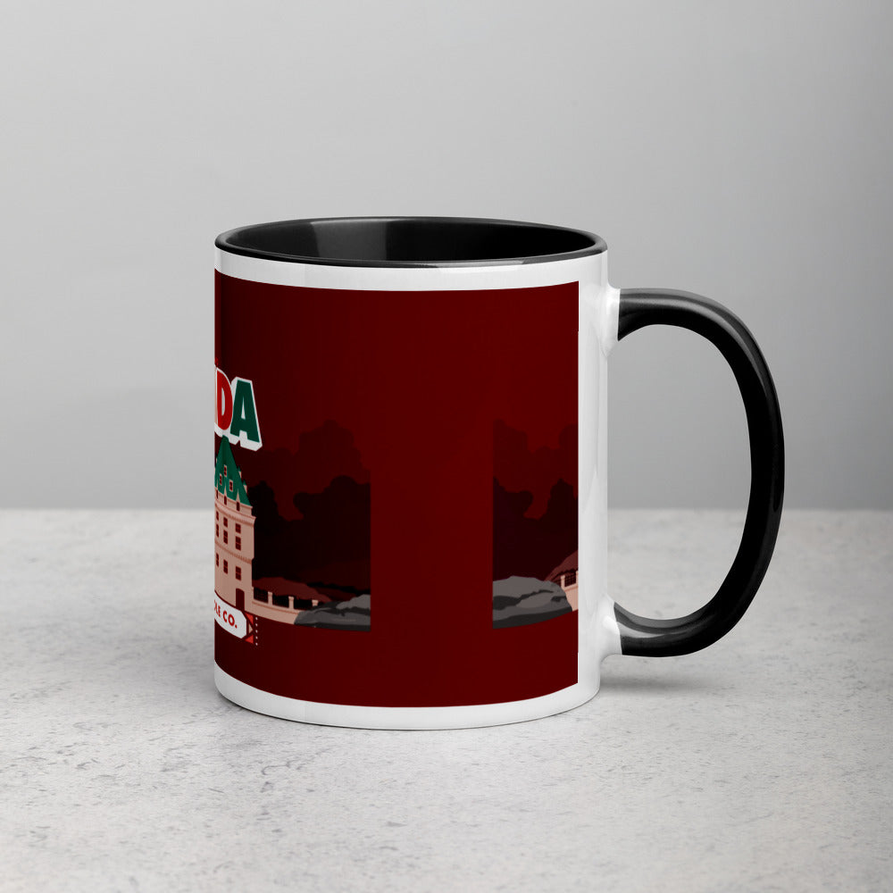 Load image into Gallery viewer, Greetings From - Canada! Color Block Mug