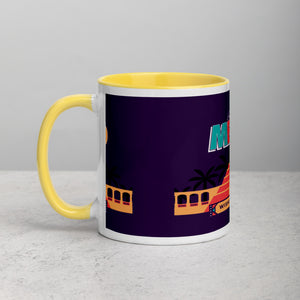 Greetings From - Mexico! Color Block Mug