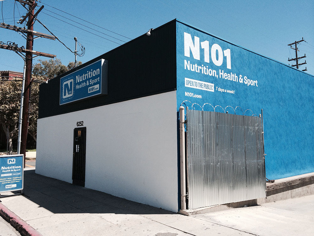 N101 Nutrition retail store
