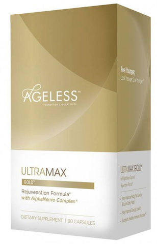 Ageless Foundation UltraMAX GOLD with AlphaNeuro Complex