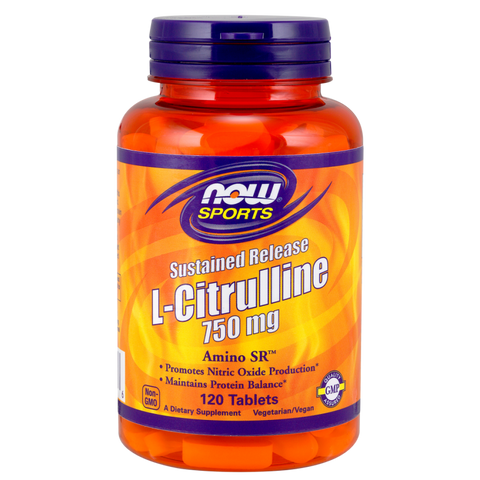 NOW Sports L-Citrulline 750 mg Sustained Release
