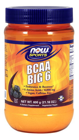 NOW Sports BCAA Big 6 - Grape
