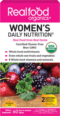 Country Life Realfood Organics Womens Daily Nutrition