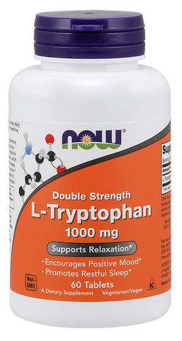 NOW L-Tryptophan 1000 mg