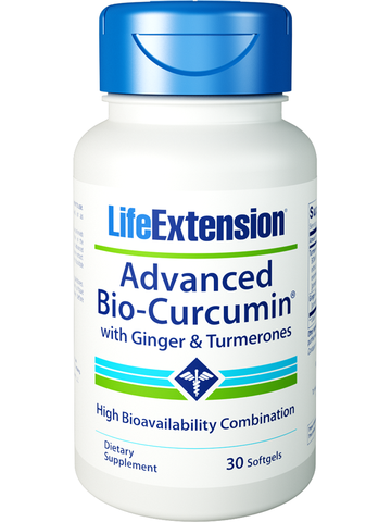Life Extension Advanced Bio-Curcumin with Ginger & Turmerones