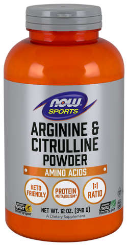 NOW Arginine & Citrulline Powder