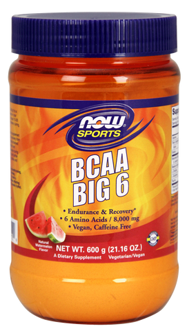 NOW Sports BCAA Big 6 - Watermelon